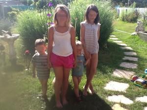 2 filles 2 garçons